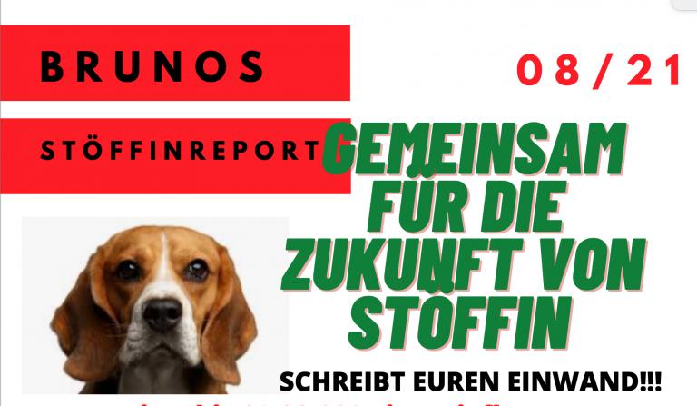Stöffin Report 08 21